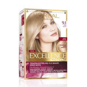 کیت رنگ موی لورآل پاریس مدل Excellence شماره 9.1