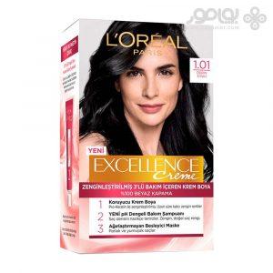 کیت رنگ موی لورال پاریس مدل اکسلانس شماره 1.01