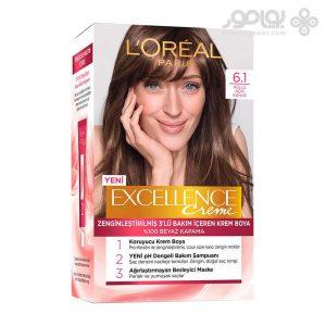 کیت رنگ موی لورال پاریس مدل Excellence شماره 6.1