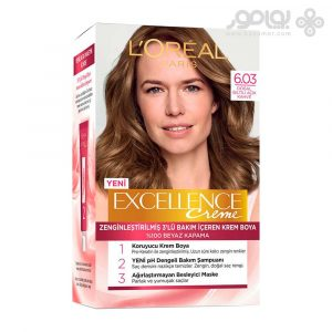 کیت رنگ موی لورال پاریس مدل اکسلانس شماره 6.03