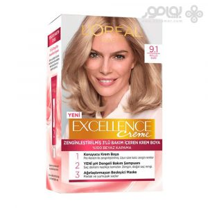 کیت رنگ موی لورال پاریس مدل Excellence شماره 9.1