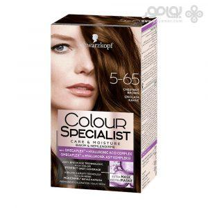 کیت رنگ موی کالر اکسپرت شماره 5.65 رنگ قهوه ای شکلاتی