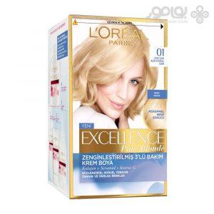 کیت رنگ موی لورال پاریس مدل Excellence شماره 01