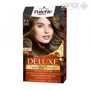 خرید اینترنتی رنگ موی پلت دلوکس شماره 3.0 به رنگ قهوه ای تیره   پوشش صد در صدی سفید موها و براقیت بسیار بالا   غنی از روغن های مغذی و محافظ مو   ساخت آلمان