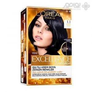 کیت رنگ موی لورال پاریس مدل Excellence شماره 1.1