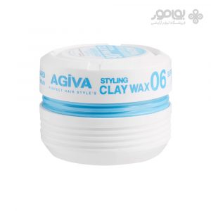 حالت دهنده موی آگیوا شماره 06 Agiva Styling Clay Wax