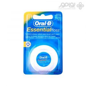 نخ دندان بدون موم اورال بی مدل Essential Floss