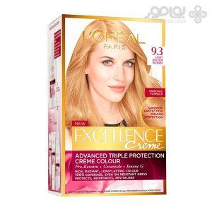 کیت رنگ موی لورال اکسلانس شماره 9.3