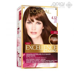 کیت رنگ موی لورال پاریس مدل Excellence شماره 4.32