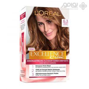 کیت رنگ موی لورال پاریس مدل Excellence شماره 6.3