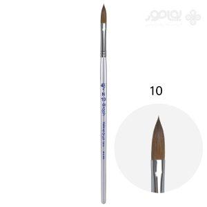 قلم موی کاشت ناخن گراف موی طبیعی شماره 10 Graph