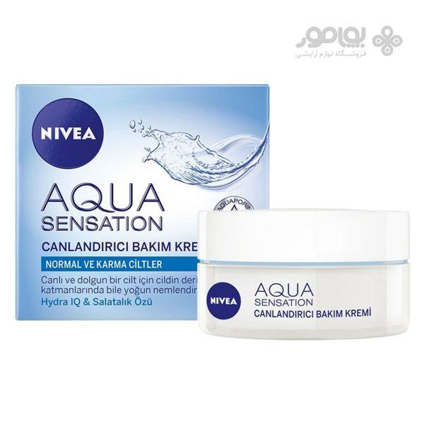 کرم مرطوب کننده نیوا مدل Aqua sensation حجم 50