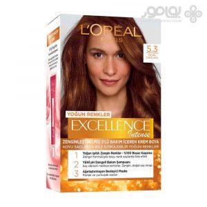 کیت رنگ موی لورال پاریس مدل Excellence شماره 5.3