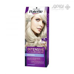 کیت رنگ موی پلت مدل اینتنسیو کالر شماره 2-10 رنگ بلوند دودی