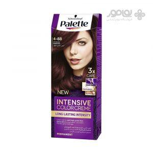 کیت رنگ مو پلت شماره 4-88 قهوه ای قرمز
