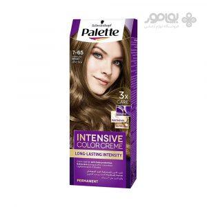 رنگ موی پالت 7.65 کاراملی