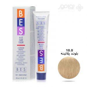 رنگ موی بس بلوند فوق العاده روشن شماره BES 10.0