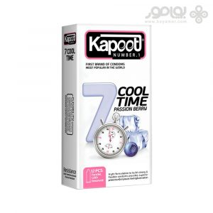 کاندوم کاپوت مدل 7 COOL TIME بسته 12 عددی