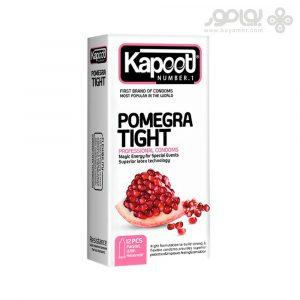 کاندوم کاپوت مدل POMEGRA TIGHT بسته 12 عددی