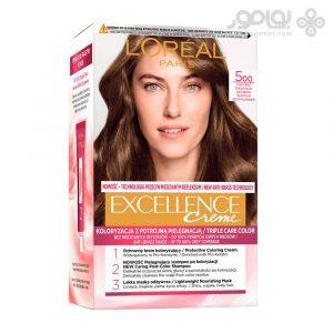 کیت رنگ موی لورال اکسلانس شماره 500