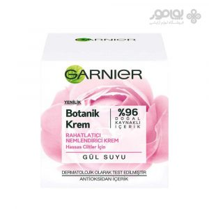 کرم مرطوب کننده گارنیر با عصاره گل رز حجم 50 میل