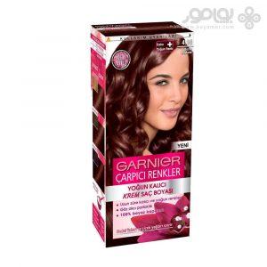 رنگ موی گارنیر مدل کالر سنسیشن شماره 4.15