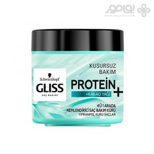 ماسک مو گلیس حاوی پروتئین و روغن کاکائو حجم 400 میل