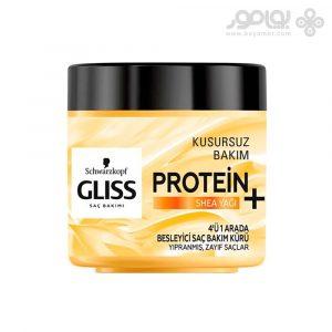 ماسک مو گلیس حاوی پروتئین و روغن کره شی حجم 400 میل