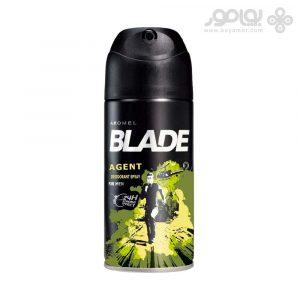 اسپری دئودورانت مردانه بلید Blade AGENT