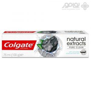 خمیر دندان کلگیت مدل NATURAL EXTRACT PURE CLEAN