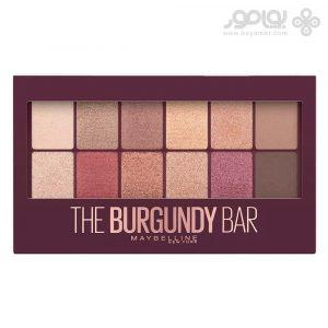 پالت سایه چشم میبلین مدل The Burgundy Bar شماره 200