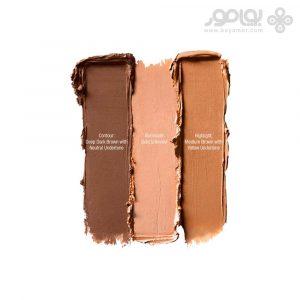 پالت کانتور و هایلایت نیکس NYX Cosmetics Cream Highlight & Contour Palette