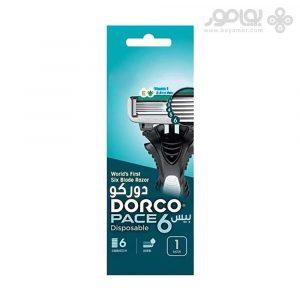 خودتراش 6 تیغ دورکو مدل PACE 6 بسته 1 عددی