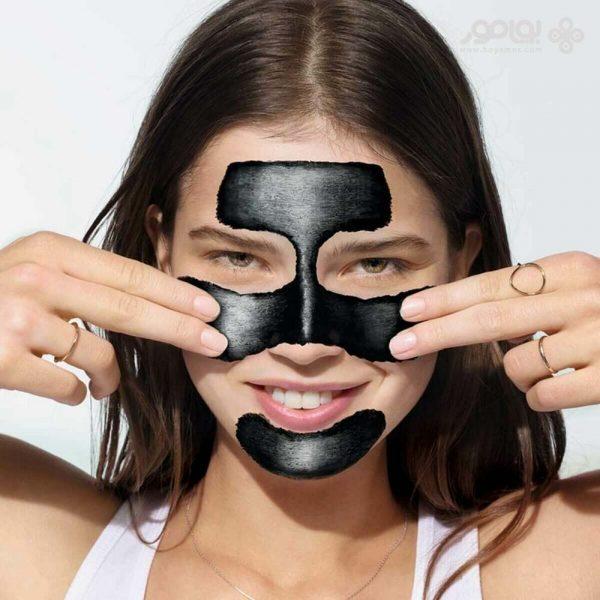 ماسک زغالی پیل آف گارنیر مدل saf&temiz