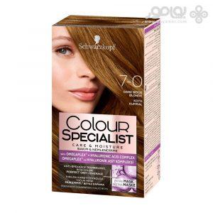 کیت رنگ موی کالر اکسپرت شماره 7.0 رنگ بلوند متوسط