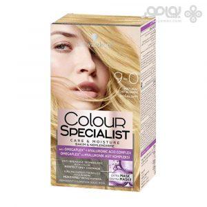 کیت رنگ موی کالر اکسپرت شماره 9.0 رنگ بلوند خیلی روشن