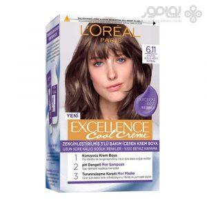 کیت رنگ موی لورال پاریس مدل Excellence شماره 6.11