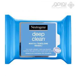دستمال مرطوب نوتروژینا مدل Deep Clean بسته 25 عددی