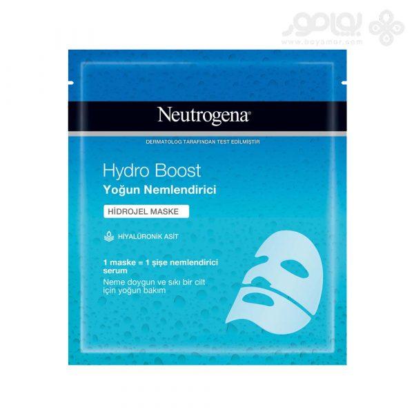ماسک صورت ورقه ای نوتروژینا مدل Hydro Boost بسته 1 عددی