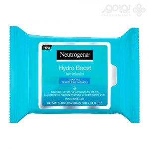 دستمال مرطوب نوتروژینا مدل Hydro Boost بسته 25 عددی
