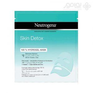 ماسک صورت ورقه ای نوتروژینا مدل Skin Detox بسته 1 عددی
