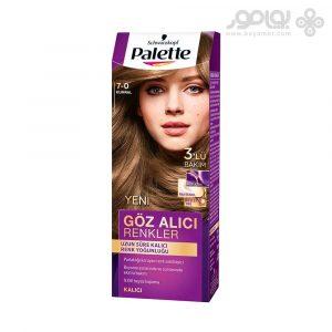 کیت رنگ موی پلت مدل اینتنسیو شماره 7.0 رنگ بلوند متوسط