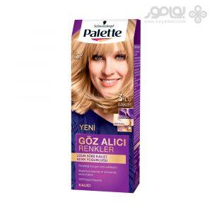 کیت رنگ موی پلت مدل اینتنسیو شماره 9.0 رنگ بلوند خیلی روشن