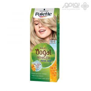 کیت رنگ موی پلت مدل Naturals شماره 10.0 رنگ بلوند پلاتینه