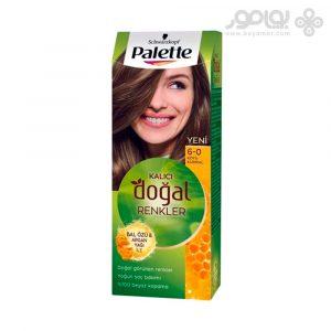 کیت رنگ موی پلت مدل Naturals شماره 6.0 رنگ بلوند تیره
