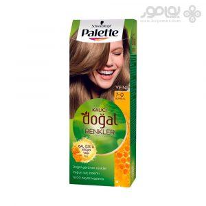کیت رنگ موی پلت مدل Naturals شماره 7.0 رنگ بلوند متوسط