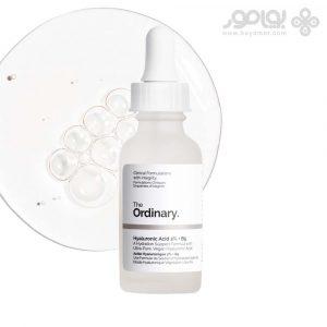 سرم هیالورونیک اسید ۲%+ b5 اوردینری   آبرسان قوی و کاهش چروک پوست